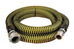 2 in. x 20 ft. Crushproof Suction Hose MxF Quick Connects A1230200020CE at Pollardwater