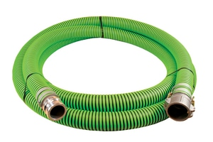 Abbott Rubber Co Inc 4 in. x 20 ft. All Weather Suction Hose MxF Quick Connects A1220400020CE at Pollardwater