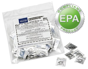 Hach DPD Total Chlorine Reagent Powder Pillow 1000 Pack H2105628 at Pollardwater