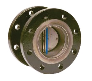 Flexi Hinge Valve Company 5 in. 125# Flanged Steel Blower Check Valve F55041330 at Pollardwater
