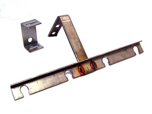 Conery Manufacturing 4-Hole Stainless Steel Float Hanger C4FB at Pollardwater