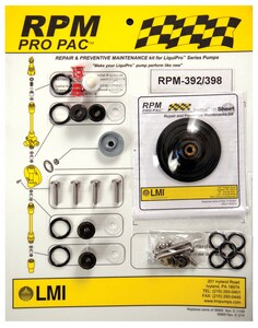 LMI LMI 0.9 PVC Molded Head for 398BI and 398SI Metering Pumps L37752 at Pollardwater