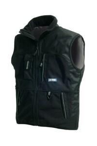 Blaklader 2-Fisted Fleece Vest Black Large B384525209900L at Pollardwater