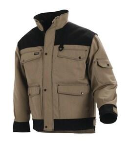 Blaklader Cordura® Heavy Worker Canvas Quilt Lined Jacket Lined XL B488213802399XL at Pollardwater