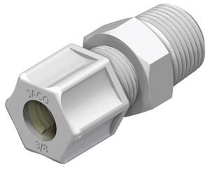Flex-Pro™ 3/8 in. Comp X 1/2 in. NPT Kynar® J1068KPG at Pollardwater