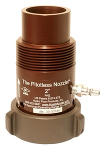 Hydro Flow Products Pitotless Nozzle™ MNST x FNST 2-1/2 in. Pitotless Nozzle HPN2THD at Pollardwater