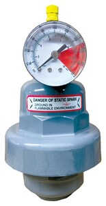 Blacoh Fluid Controls Neptune Pulsation Dampener 175 cu. In. 2 in. NPT PVC/Viton® BC911V at Pollardwater