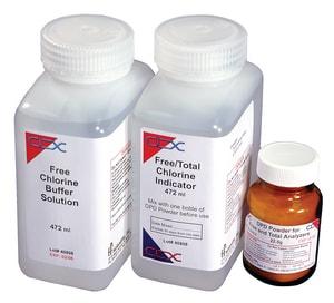 HF Scientific Chlorine Total Chlorine Reagent Powder H09948 at Pollardwater