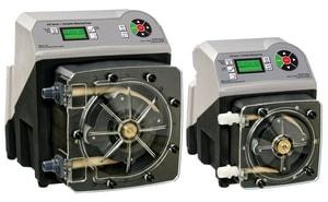 Blue-White Industries Flex-Pro™ 1/2 in. 950.4 gpd 65 psi 115V MNPT PVDF, PVC and Polyethylene Chemical Metering Pump BA4V24MGH