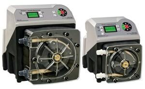 Blue-White Industries Flex-Pro™ 1/2 in. 2400 gpd 65 psi 115V MNPT PVDF, PVC and Polyethylene Chemical Metering Pump BA4V24MGKK