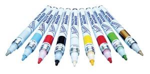 John P. Nissen Jr., Company Feltip Paint Marker White NISFPWHM at Pollardwater