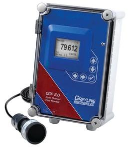 Greyline Instruments OCF 5.0 240VAC OCF 5.0 Open Channel Flow Monitor GOCF50A1A1D1A2A at Pollardwater