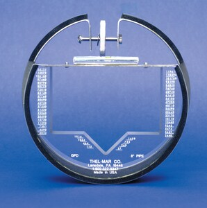 Mueller Systems 1-1/2 in. Flanged Water Meter MQ9NS2321 at Pollardwater