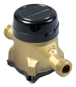 Hersey Meters 1-1/2 in. Water Meter with Standard Bronze Bottom HQ9NS2051 at Pollardwater