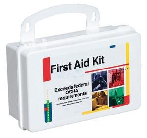 Plastic First Aid Kit F222G at Pollardwater