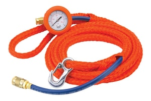 30 ft. x 1/4 in. Inflation Hose with Gauge Assembly L32130 at Pollardwater
