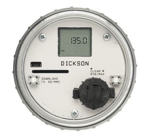 Dickson Company 100 psi Pressure Data Logger DPR125 at Pollardwater