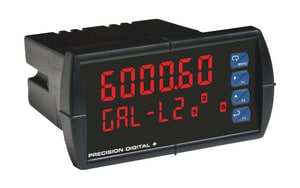 Precision Digital Corporation ProVu Process Meter 6 digit 2 line PPD60007R7 at Pollardwater