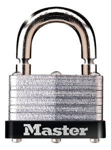 Master Lock 1-3/4 x 13/16 in. Padlock with Breakaway Shackle Keyed Alike M500KABRK