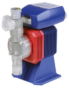 Iwaki Walchem EWN-R Series 3/8 in. 24 gpd 105 psi OD Tube PVC, PTFE and FKM Centrifugal Pump WEWNB16VCURM