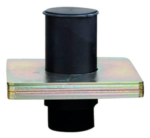 Republic Manufacturing 3 in. Anodized Aluminum Weighted Plate for Weighted Relief Valve R210306903 at Pollardwater