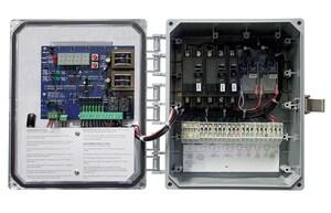 SJE Rhombus EZ Series® 10 in. 120/208/240V 1-Phase Duplex Demand Control Panel SEZS4110H10P17G at Pollardwater
