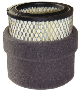 Solberg Manufacturing 1/2 in. Absorptive Tubular Silencer with Male Connection MNPT Thread SSLCRT
