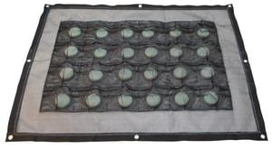 Dechlor Mat 3'x4' Black 24 Pocket PDECHLORMAT at Pollardwater