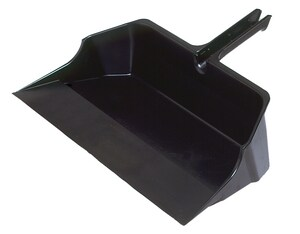 Rubbermaid 22 in. Jumbo Dust Pan with Handle in Black RFG9B6000BLA at Pollardwater