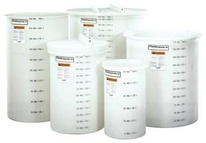 Snyder 275 gal HDLPE, Polyethylene and Sodium Hypochlorite Day Tank S57400VOT52 at Pollardwater