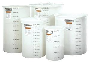 Snyder 330 gal HDLPE, Polyethylene and Sodium Hypochlorite Day Tank S57500VOT52