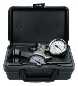 Pollardwater 100 lb. Inspection Pressure Testing Gauge with Case PP671