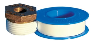 PROSELECT® 520 x 1/2 in. PTFE Pipe Thread Tape in Bright White PSTTD520 at Pollardwater