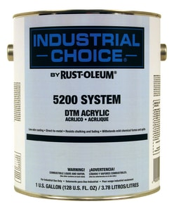 Rust-Oleum® 1 gal DTM Acrylic Hydrant Paint in White R5292402