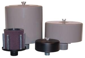 Solberg Manufacturing 2-1/2 in. MNPT Polyester Filter Silencer SOLFS231P250 at Pollardwater