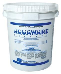 Severn Trent Aquaward® 100 lb. Chlorination Tablet SAQUAWARD100 at Pollardwater