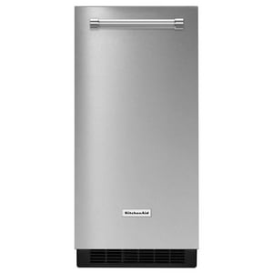 Kitchenaid 25-5/8 x 14-7/8 in. Automatic Ice Maker in Stainless Steel KKUIX305E