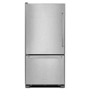 Kitchenaid 6.45 cf Width Built-In Side-by-Side Refrigerator ...