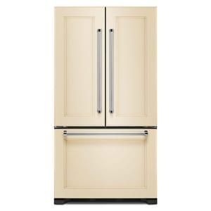 Kitchenaid 16.35 cf Counter Depth French Door Refrigerator with Interior Dispenser in Panel Ready KKRFC302EPA