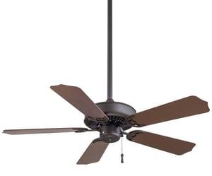 Minka-Aire Sundance™ 52.22W 5-Blade Ceiling Fan in Oil Rubbed Bronze MF572ORB