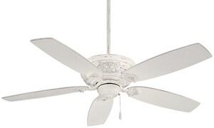 Minka Classica 52 in. 5-Blade Classica Ceiling Fan in Provencal Blanc MF659PBL