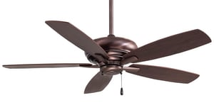 Minka-Aire Kola 5-Blade Ceiling Fan in Dark Brushed Bronze MF688DBB