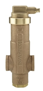 Honeywell Home SuperVent™ 1-1/2 in. Sweat Hydronic Air Eliminator 125 psi Brass, Bronze and Stainless Steel HPV150S