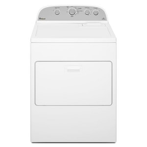 Whirlpool Front Load Electric Dryer with Cool Down Cycle in White WWED4915EW