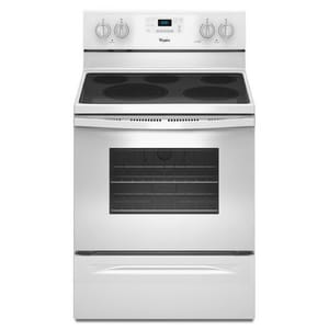 Whirlpool 40A Temperature Self Cleaning in White WWFE530C0E
