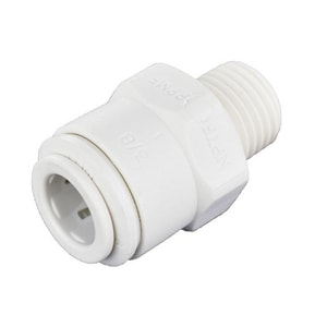 John Guest USA 3/8 x 1/4 in. Tube OD x FNPT Reducing Polypropylene Bulk Male Connector JPP011222W at Pollardwater