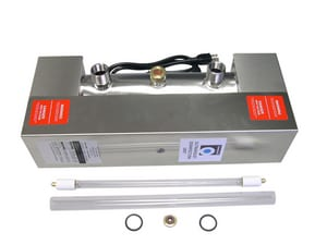 Campbell Manufacturing 3/4 in. 7 gpm Ultraviolet Disinfection System CDWS7