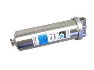 Campbell Manufacturing 3/4 in. 8 gpm Forged Brass and Stainless Steel Filter Housing C1SSH