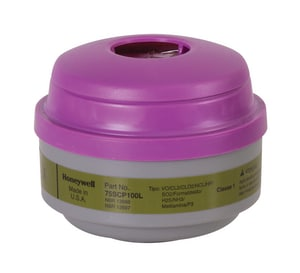 North Safety Products Multi-Purpose Cartridge with P100 Filter 2/Pk H75SCP100 at Pollardwater