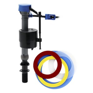 Fluidmaster PerforMAX® 10 in. to 15 in. Fill Valve Kit for Kohler Aqua Piston, American Standard Champion 3/4, Mansfield, and Glacier Bay Dual Flush Toilets F400CARSP5